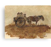 In Simpler Times.... Canvas Print