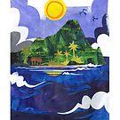 Manono Island by mikeyfreedom