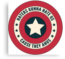 Haters Gunna Hate - Small Canvas Print