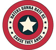 Haters Gunna Hate - Small Photographic Print