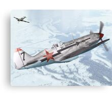 Mig-3 Stalin's Falcons Canvas Print