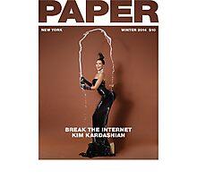 Break the Internet, Kim Kardashian. Photographic Print