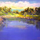 Angourie The Blue Pool by Virginia McGowan