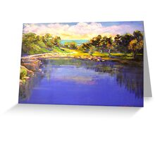 Angourie The Blue Pool Greeting Card