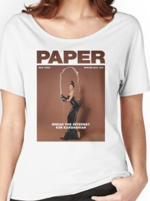 Break the Internet, Kim Kardashian. Women's Relaxed Fit T-Shirt