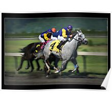 Thoroughbred Racing Print Poster