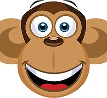 Cartoon Monkey by Fitzillo