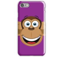 Cartoon Monkey iPhone Case/Skin