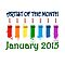 Artist of the month - January 2015