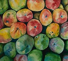 Colorful Mangoes by chlsjiles
