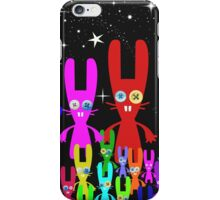 Button Bunnies iPhone Case/Skin
