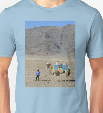 A Boy and His Camel Unisex T-Shirt