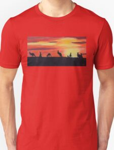 Roos on the horizon Unisex T-Shirt