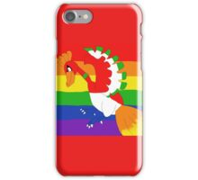 Homosexuality Ho-Oh Pride Flag iPhone Case/Skin