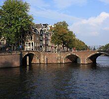 Amsterdam Stone Arch Bridge by aidan  moran