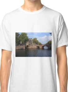 Amsterdam Stone Arch Bridge Classic T-Shirt