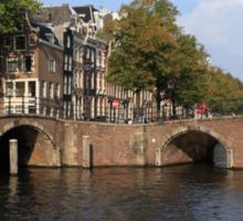 Amsterdam Stone Arch Bridge Sticker
