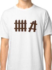 Broken fence Classic T-Shirt