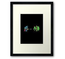his name is Trooper... Framed Print