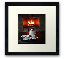 Fiery Hot Chocolate Framed Print