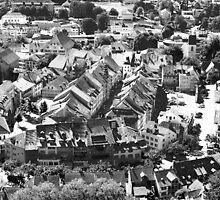 Altstadt Lenzburg by Daniel Kazor