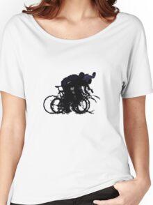 Zannox Blur Women's Relaxed Fit T-Shirt