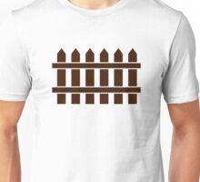 Wooden fence Unisex T-Shirt