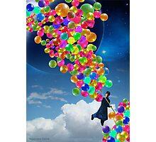 Qalander, The Extrasolar Balloon Wala Photographic Print