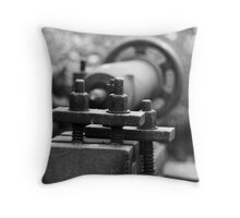 Nuts n Bolts Throw Pillow
