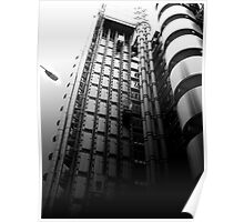 The Lloyd's Building London  Poster