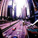 Wanchai, Hong Kong by Elaine Li