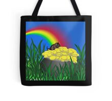 Pot of Gold with Gerbil Tote Bag