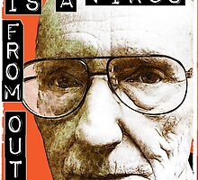 William S. Burroughs (Beat Writer) by LamericaTees
