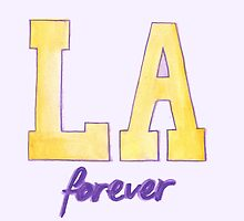 LA forever HAND-DRAWING DESIGN by nbatextile