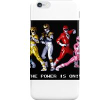 The Power Is On iPhone Case/Skin