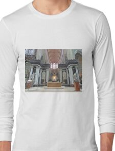 Interior, St Baafskathedral, Ghent, Belgium Long Sleeve T-Shirt