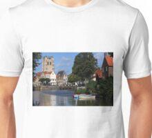 Tranquil Village Scene Unisex T-Shirt
