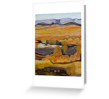 Finke River at Twilight Greeting Card