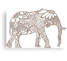 Elephant_rey Canvas Print