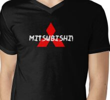 Mitsubishi Mens V-Neck T-Shirt