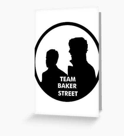 TEAM BAKER STREET Greeting Card