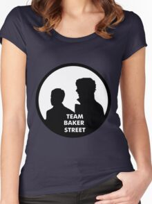 TEAM BAKER STREET Women's Fitted Scoop T-Shirt