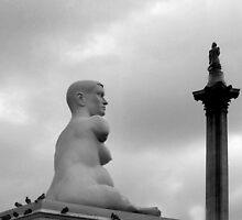 Time Line Trafalgar Square London by Eugene Francis Cummings
