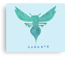 HORNETS  HAND-DRAWING DESIGN Canvas Print