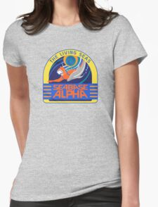 Seabase Alpha The Living Seas Womens Fitted T-Shirt
