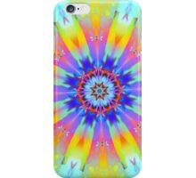 Summer mood, fractal abstract design iPhone Case/Skin