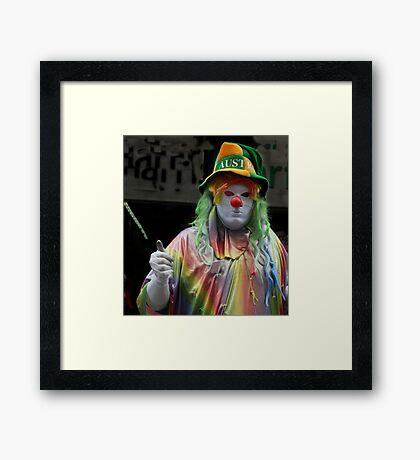 Let me Entertain you! Framed Print