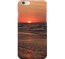 Normandy Beach At Sunset iPhone Case/Skin