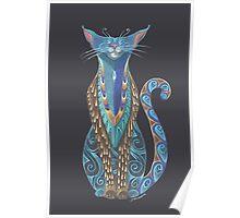 Cat Totem Poster