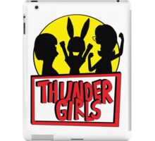 Thunder Girls are GO! iPad Case/Skin